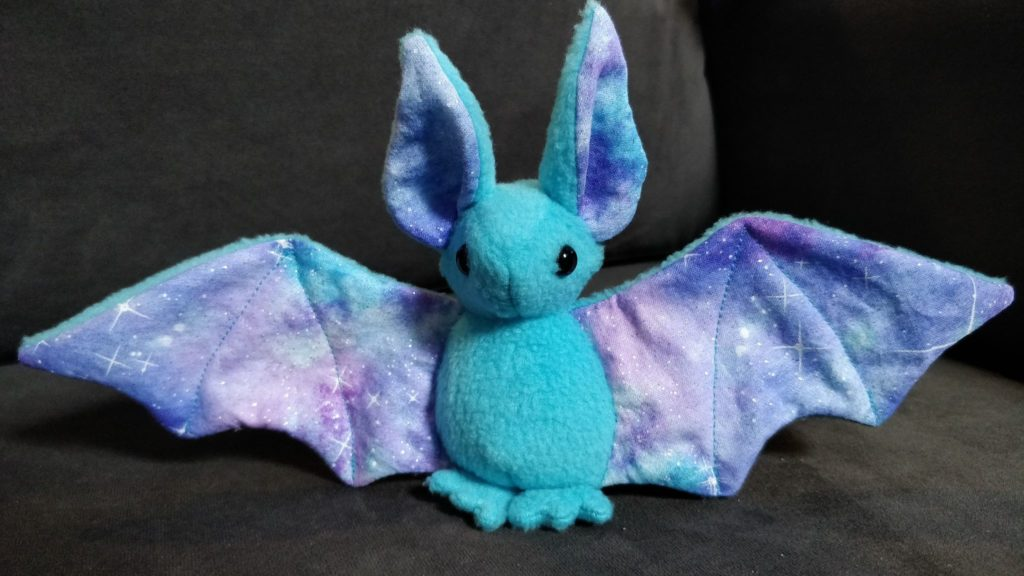 Pattern by BeeZeeArt, this bat is available for sale on Honeycomb Crafts